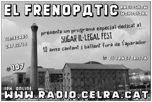 El Frenopàtic radioshow #107
